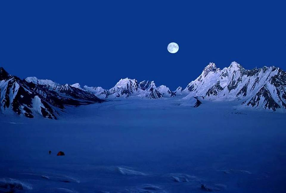 Biafo Glacier Karakoram Mountains