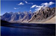 Passu Peaks Hunza River Hunza