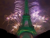 Biggest Fireworks on Eiffel Tower