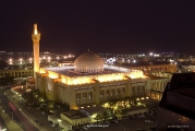 Masjid Al Kabir in Kuwait (night)