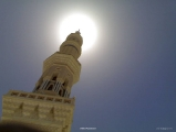 Masjid Al Nabawi in Madinah - Saudi Arabia (minaret)