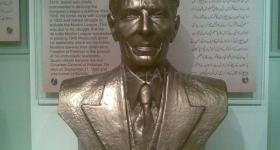 Portrait Muhammad Ali Jinnah