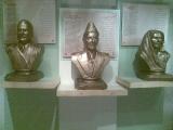 Portrait Allama Iqbal, Portrait Muhammad Ali Jinnah, Portrait Fatima Jinnah