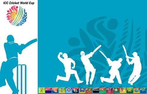 cricket world cup 2011 final wallpapers. ICC World cup was started on