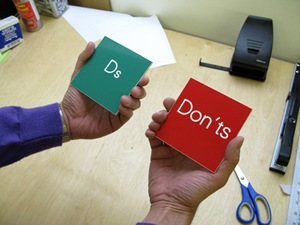 The Dos and Don'ts of Creating Passwords
