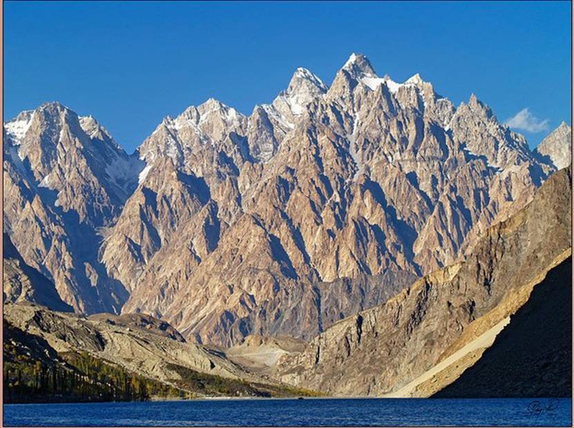 Attabad Lake Hunza Valley
