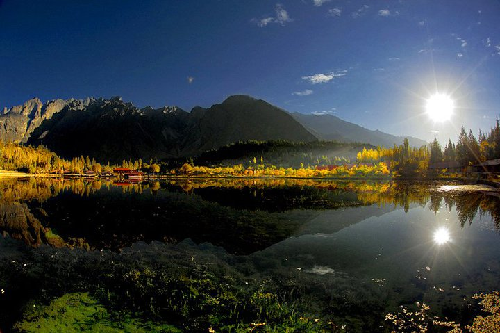 Kachura Lake Skardu District of Gilgit Baltistan