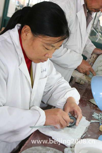 Jade polishing