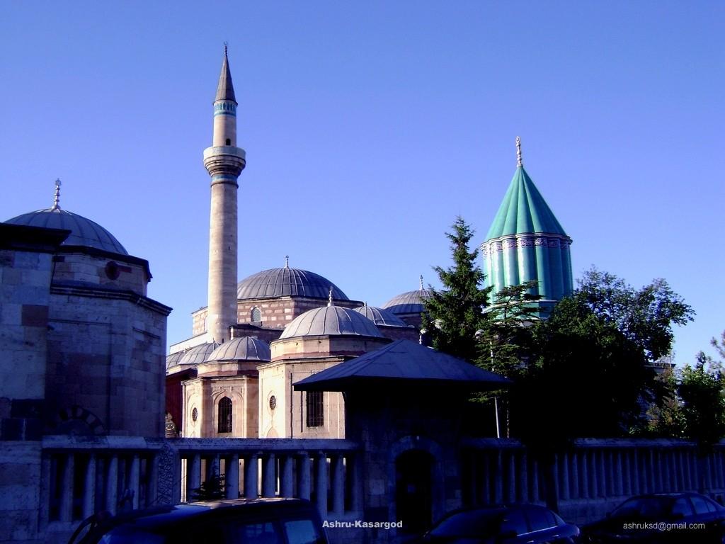 Mawlana Mosque in Konya - Turkey