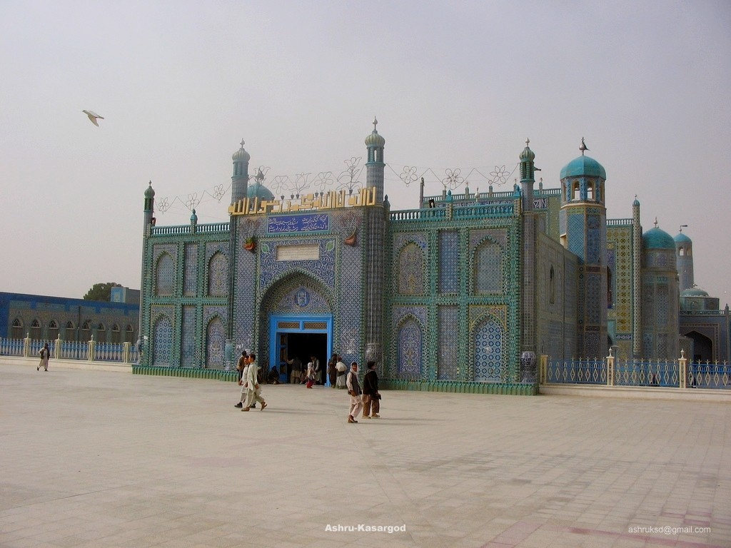 Mazare Shareef in Afghanistan