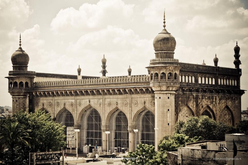 Mecca Mosque in Hyderabad - India