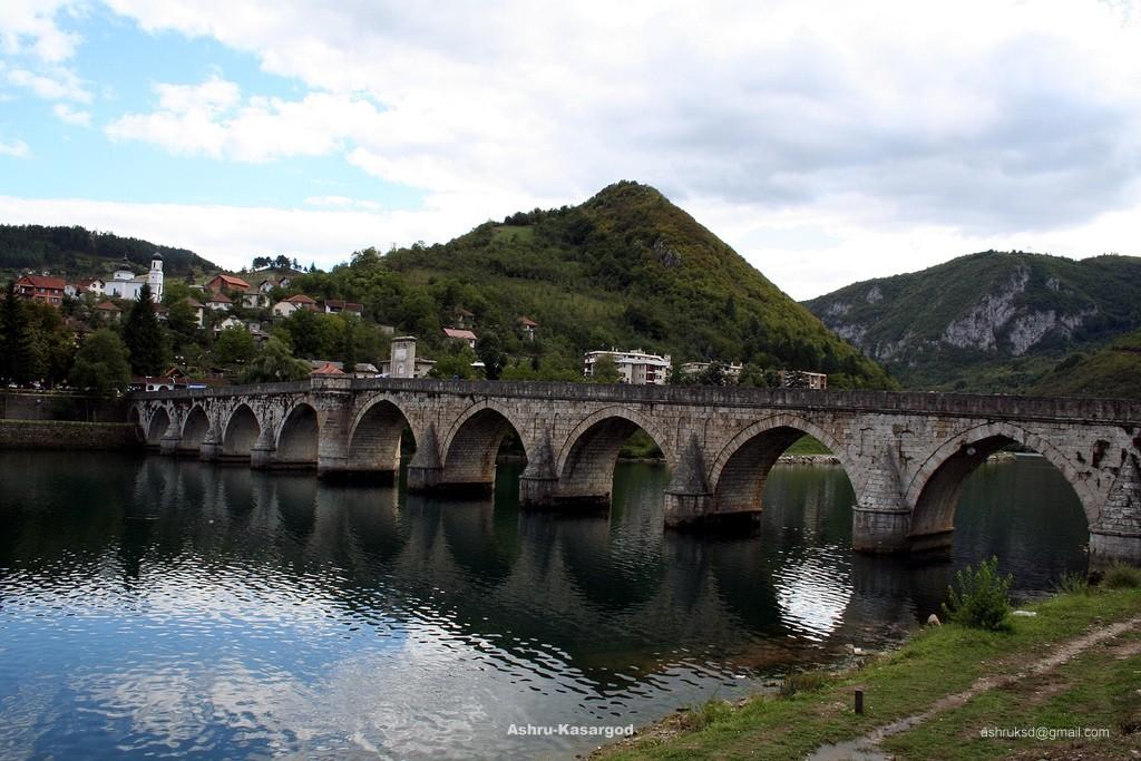 Mehmed Pasha Bridge in Visegrad - Bosnia and Hercegowina