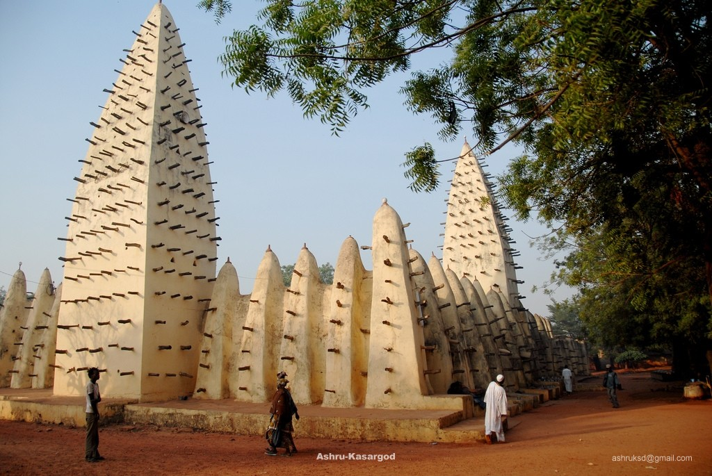 Mosque in Bobo Dioulasso - Burkina Faso