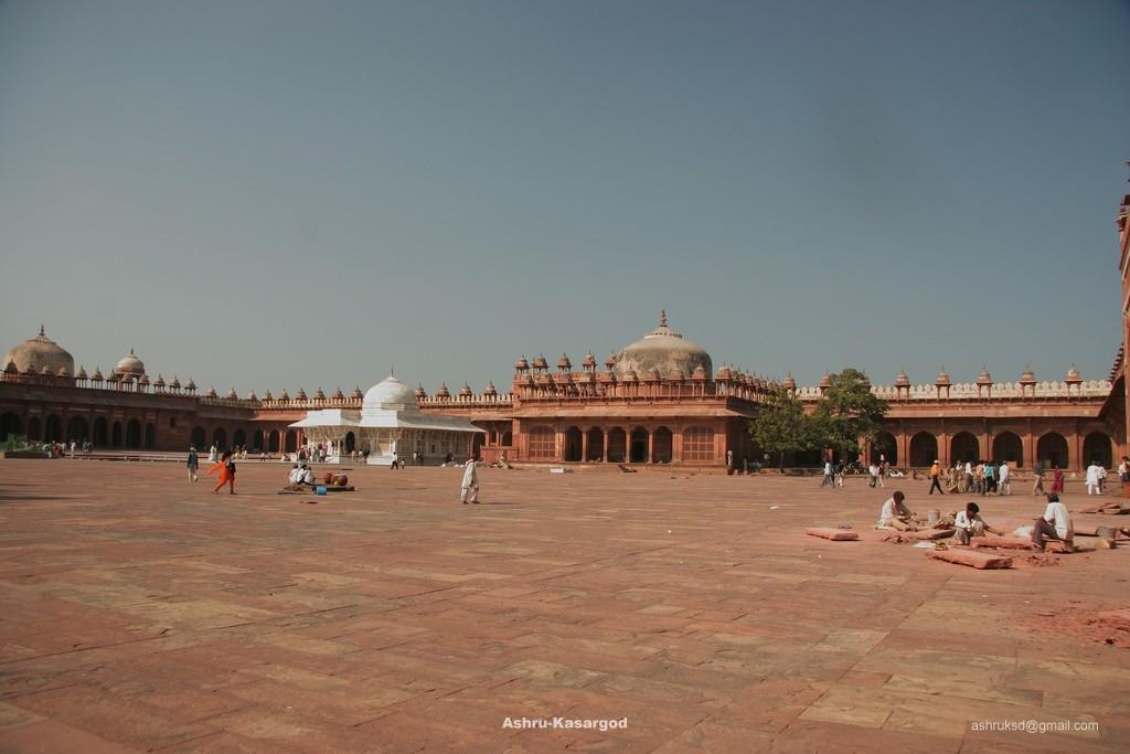 Mosque in Fatehpur Sikri - India