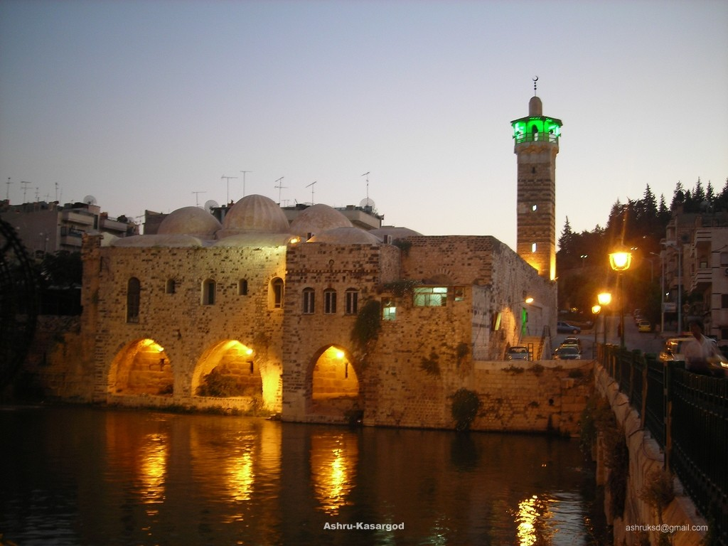 Mosque in Hama - Syria