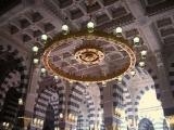 Masjid Al Nabawi in Madinah - Saudi Arabia (chandelier)