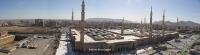 Masjid Al Nabawi in Madinah - Saudi Arabia (panorama)
