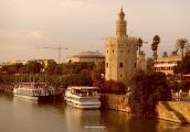 Moorish Tower in Sevilla - Spain