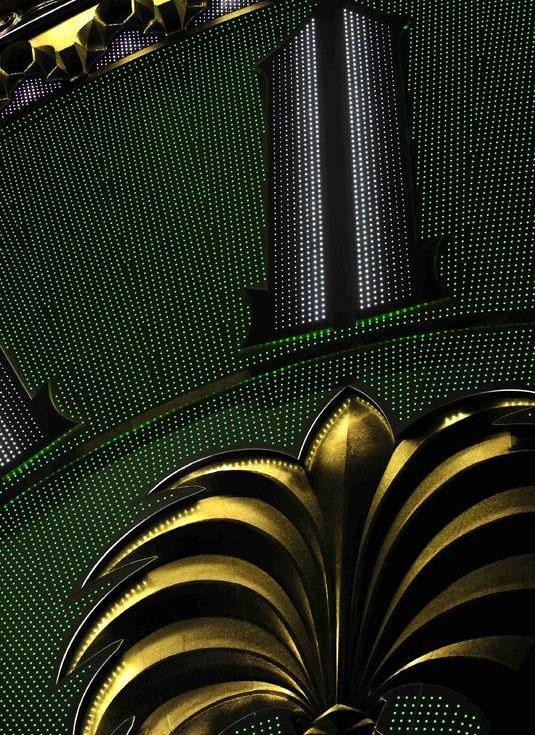 close look of Makka Clock