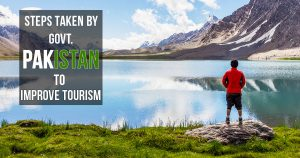 Steps taken by government Pakistan to improve tourism